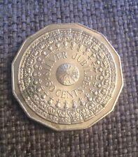 1977 AUSTRALIAN 50 CENT COIN QUEEN'S SILVER JUBILEE