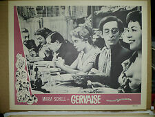 GERVAISE, orig 1957 LC (Maria Schell in dinner table scene) - Emile Zola