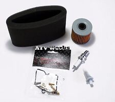 Kawasaki KLF300 Bayou 2x4 1989-1995 Tune-up Kit Carb Oil Air Filter Spark r302