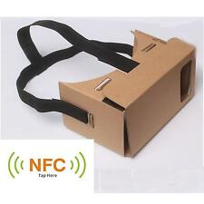 New DIY Google Cardboard 3D Vr Virtual Reality Glasses with NFC Tag Head Mount