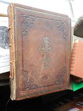 Illustrirte Familien-Bibel Die Heilige Schrift (Luther) mit 41 Stahlstichen Old
