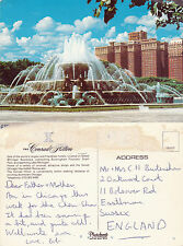 1980's CONRAD HILTON HOTEL CHICAGO ILLINOIS UNITED STATES COLOUR POSTCARD