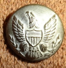 RARE Vintage RALPH LAUREN Pewter EARLY AMERICAN EAGLE Replica CREST BUTTON 3/4""