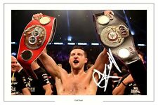 Carl Froch Boxe Signé Autographe Photo champion du monde