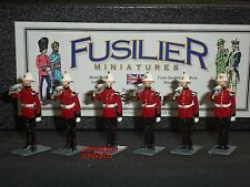 FUSILIER MINIATURES ROYAL MARINE LIGHT INFANTRY BUGLERS METAL TOY SOLDIER SET