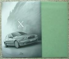 JAGUAR x type Presse Media Pack photos couleur CD ROM nov 2000