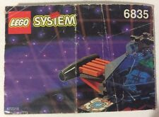 LEGO 6835 Notice de Montage Instruction Booklet 1994 Saucer Scout Spyrius