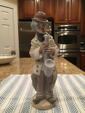 Lladro Figurine 5471 Sad Sax -Mint Condition