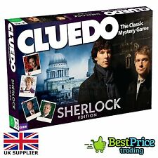 Cluedo Sherlock Edition Board Game *BRAND NEW & SEALED *Family Fun *Holmes