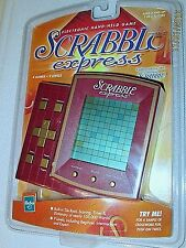 NEW FACTORY SEALED ~ HASBRO SCRABBLE EXPRESS Electronic Hand Held Game 1999