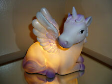 Unicorn LED Table Lamp NEW Bedroom Girls Bedside Desk Light 3D Wings Magic Gift