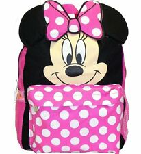 "Disney Minnie Mouse Ears Square 12"" inches Backpack - BRAND NEW - kids"