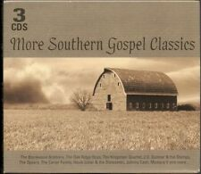 More Southern Gospel Classics, 3 CD set - Johnny Cash, The Carter Family Etc,New