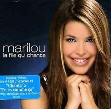 La Fille Qui Chante Marilou MUSIC CD