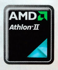 AMD Athlon II Sticker 17 x 21mm Case Badge Logo Label USA Seller