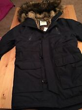Hollister Jacket Large Blue