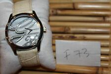 GUESS Women White Leather 25th Anniversary Script Watch W85044L1 F73