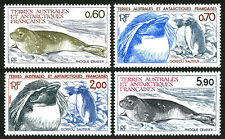 FSAT TAAF 107-110, MNH. Crab-eating Seal, Penguins, 1984