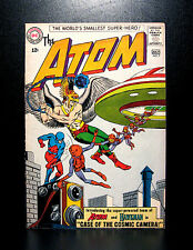 COMICS: DC: The Atom #7 (1963) 1st Hawkman crossover/with Atom team-up - RARE