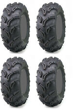 Four 4 Maxxis Zilla ATV Tires Set 2 Front 25x8-12 & 2 Rear 25x11-10