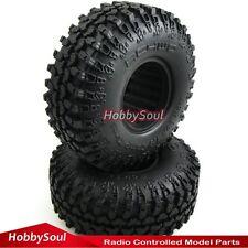 2 Stück RC 1/10 114mm Crawler Reifen Tires W/ Foam für RC4WD Axial Crawler Truck