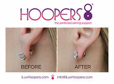 HOOPERS® The perfected earring support backing stabilizer system
