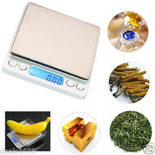 Precision Jewelry Electronic LCD Digital Scale Balance Weight Pocket 2000g 0.1g