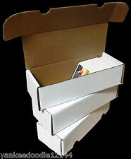 (100) New! CSP Brand 550 COUNT BASEBALL TRADING CARD CARDBOARD STORAGE BOXES
