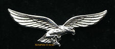 SPECTACTULAR AMERICAN FLYING BALD EAGLE HAT PIN PILOT US USA WING Motorcycle WOW