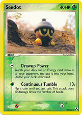 Seedot Common Pokemon Card EX-Legend Maker 61/92