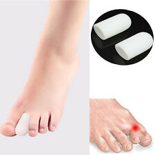 2Pcs Gel Toe Tube Separator Bunion Protector Foot Corn Tube Blister Pain Relief