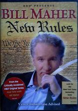 BILL MAHER - NEW RULES - HBO VIDEO - 2006 - STILL SEALED