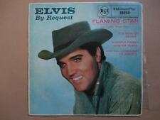 Elvis Presley By Request, Flaming Star, EP, p/s, black label, Aust. press