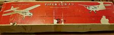 "VINTAGE STERLING PIPER CUB J-3 54"" R/C BALSA MODEL AIRPLANE MODEL KIT"