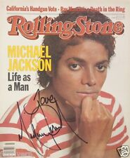 MICHAEL JACKSON Signed Photo / Advert - Musician Pop Star Singer / Vocalist