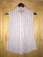 "Vivienne Westwood ""RED LABEL"" Sleeveless Shirt / Top Size S"