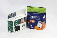 HP Ink 10 Black C4840A and Cyan C4841A Exp 2001-2002