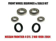 Fits:Nissan Frontier Front Wheel Bearings & Seals Set 1998-2004 With 4Cyl