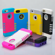 Wholesale 10/ Lot Hybrid Shockproof Heavy Duty Tuff Rugged Case for iPhone 5c C