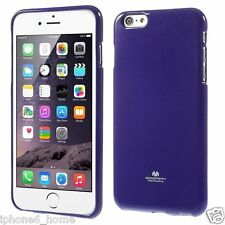 Genuine MERCURY Goospery Purple Soft Jelly Case Cover Skin For iPhone 6 & 6s