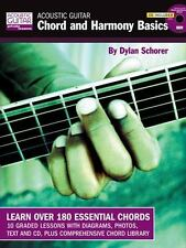 Acoustic Guitar Chord and Harmony Basics BookCD (String Letter Publish-ExLibrary