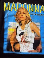 Original MADONNA Official 2004 Re-Invention Tour 2 SIDED Adult RARE T-Shirt SZ L