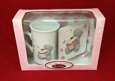 ME TO YOU BEAR TATTY TEDDY MUG TRAY AND COASTER CUPCAKE GIFT SET