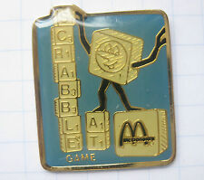 M / SCRABBLE AT / ÖSTERREICH  ..........Mc DONALD`s -Pin (119c)