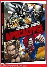 SUPERMAN / BATMAN dvd APOCALYPSE Dc Comics Universe Man od Steel anime # NEUF #