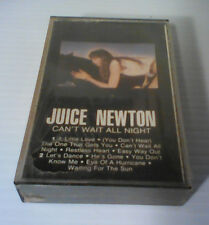 Can't Wait All Night by JUICE NEWTON- Cassette - SEALED