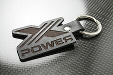 MG X POWER Leather Keyring Keychain Schlüsselring Porte-clés ZT ZS ZR TF ZTT V8