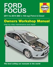 Manuale Haynes 5632 FORD FOCUS Benzina & Diesel 2011 - 2014 (60 a 14) nuovo