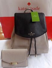 KATE SPADE  SMALL BREEZY MULBERRY STREET BACKPACK PURSE BAG W/ MATCHING WALLET