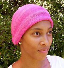 Dawn Pinks Tie Dyed Head wraps  Turban Wraps Chemo Hair Scarf  Cotton